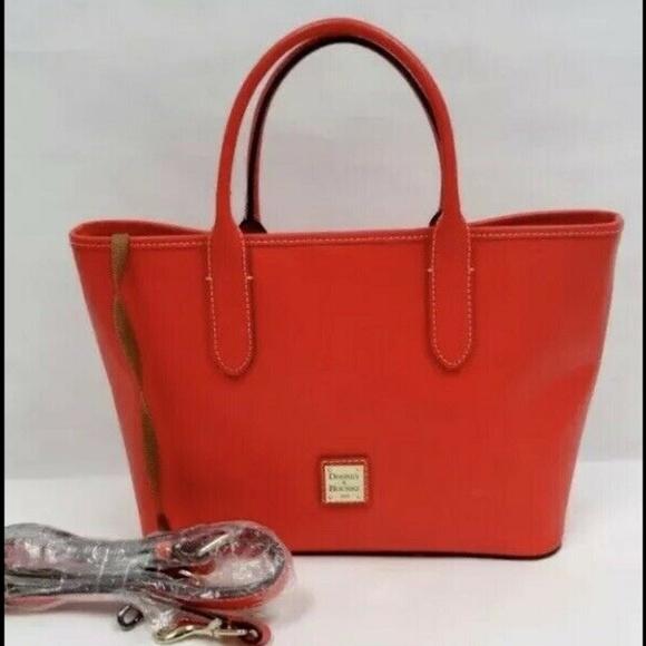 Dooney & Bourke Handbags - Dooney & Bourke Brielle Saffiano Red Like New